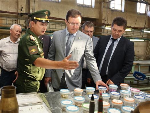 Глава региона поставил задачу увеличить производство продукции Чапаевского мехзавода