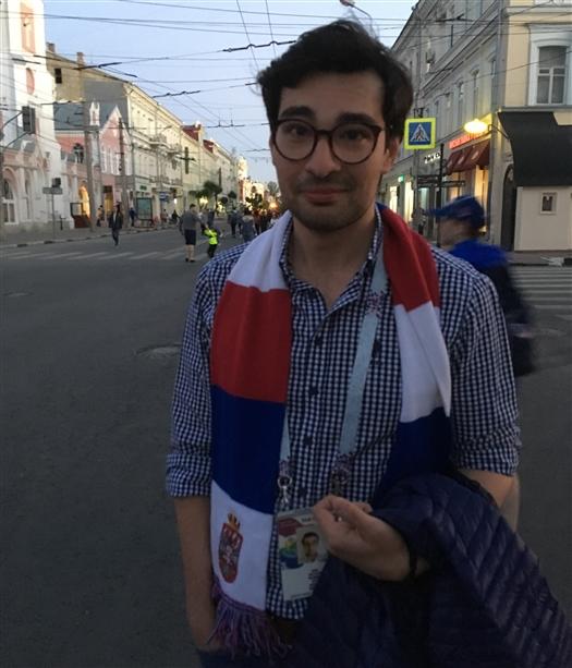 """Болельщик команды Сербии: """"Самара — очень уютный город"""""""
