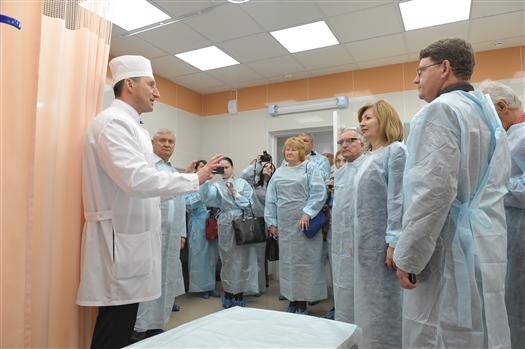 Больница Пирогова готова принять болельщиков чемпионата мира-2018