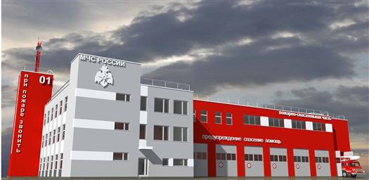"""Новое пожарное депо около """"Самара Арены"""" будет трехэтажным"""