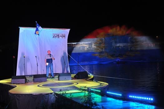 На Мастрюковских озерах завершается 43-й фестиваль авторской песни имени Валерия Грушина
