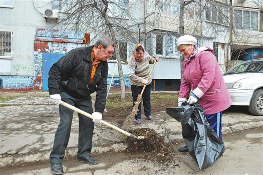 30 тыс. самарцев приняли участие в Гагаринском субботнике