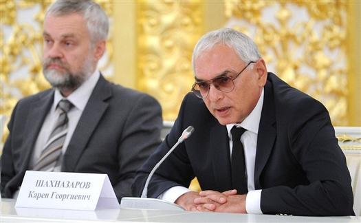 Карен Шахназаров заинтересовался идеей фильма о битве Тимура и Тохтамыша