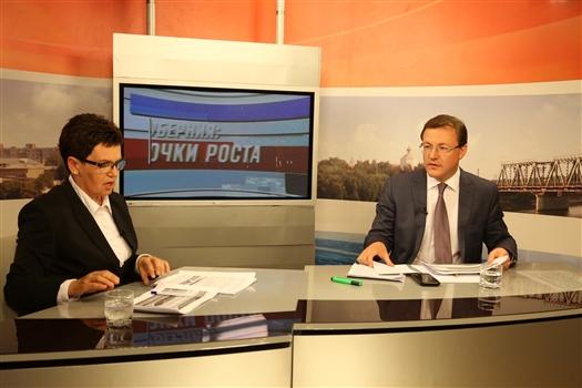 """Дмитрий Азаров: """"Мы обязаны стать регионом-лидером по внедрению современных технологий"""""""