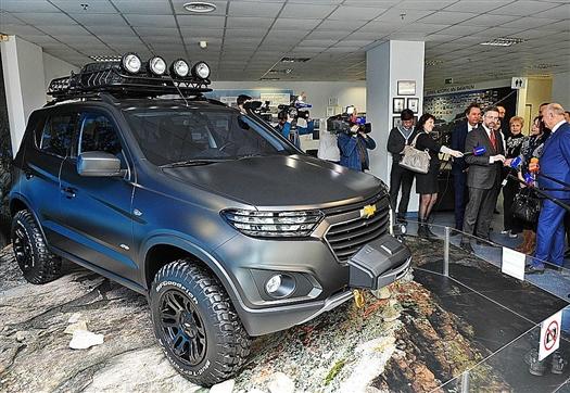 Сбербанк предложил 15 млрд руб. кредита на производство новой Chevrolet Niva