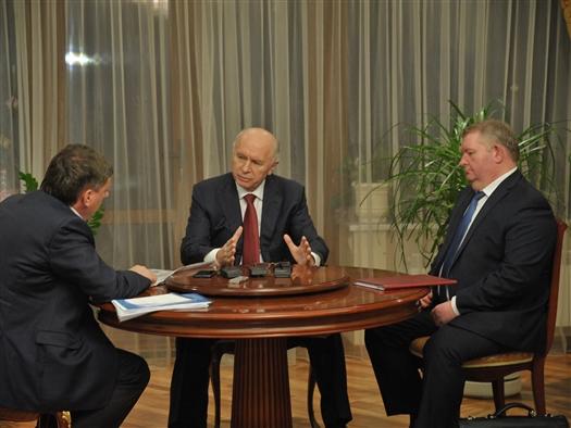 Николай Меркушкин и Олег Фурсов обсудили строительство новых школ в Самаре