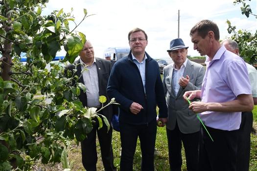 Дмитрий Азаров находится с рабочим визитом в Приволжском районе