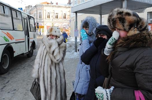 В области объявлено штормовое предупреждение из-за аномальных холодов
