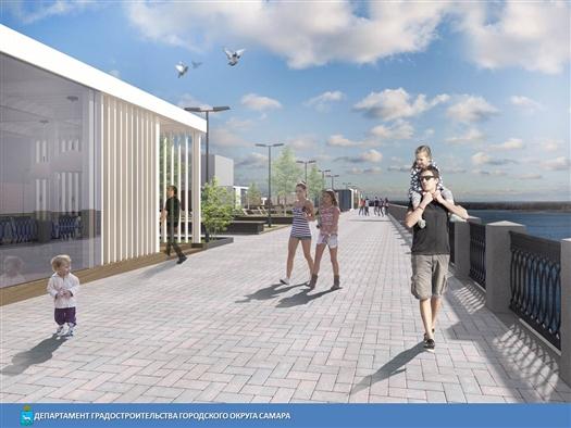 В Самаре обсудили строительство пятой очереди набережной