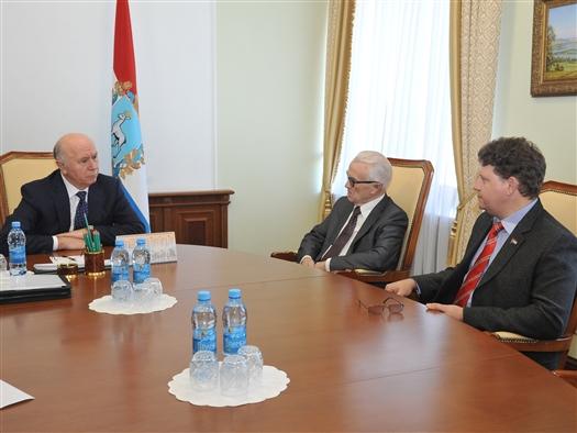 Николай Меркушкин провел рабочую встречу с руководством регионального отделения КПРФ