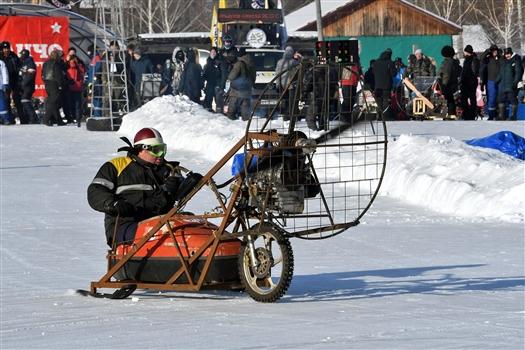 Под Тольятти прошел 14-й зимний мотослет SnowDogs и чемпионат мира по унимото