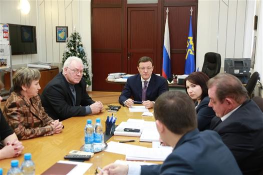 Дмитрий Азаров провел прием граждан в Тольятти