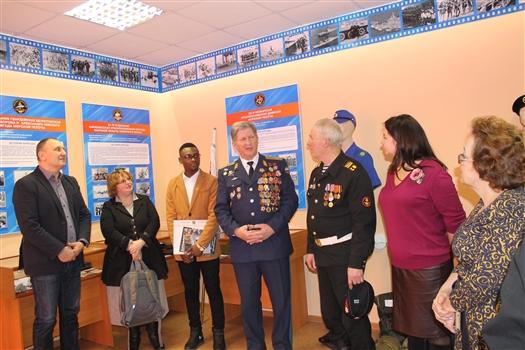 В самарской школе №8 открылся музей воинов-интернационалистов