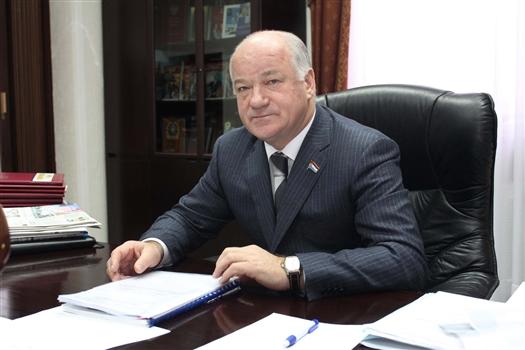 """Виктор Сазонов: """"Нам предстоит большая работа по реализации задач, поставленных в послании главы региона"""""""