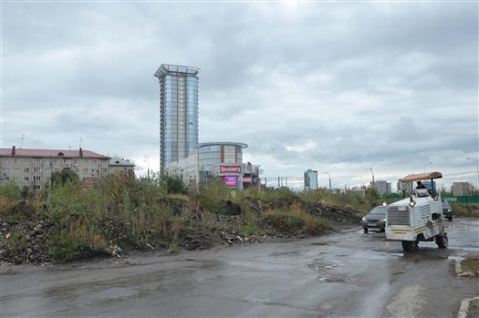 Началось строительство развязки на пересечении Московского шоссе и ул. Луначарского