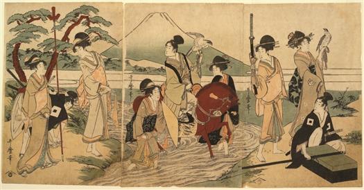 В Самару привезут уникальную японскую гравюру