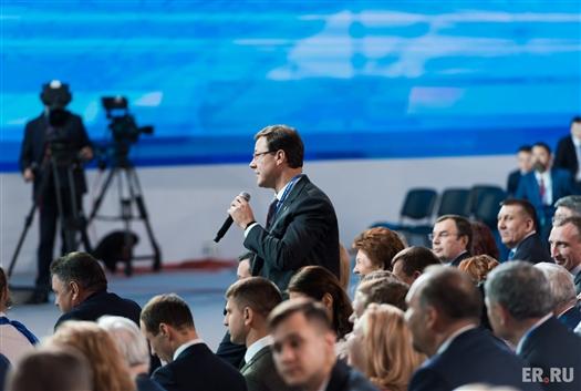 """Дмитрий Азаров: """"Я уверен, что Владимира Владимировича Путина на выборах поддержит абсолютное большинство граждан страны"""""""