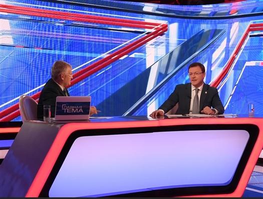 """Дмитрий Азаров: """"Задача региональной власти - создавать условия для развития человеческого потенциала"""""""