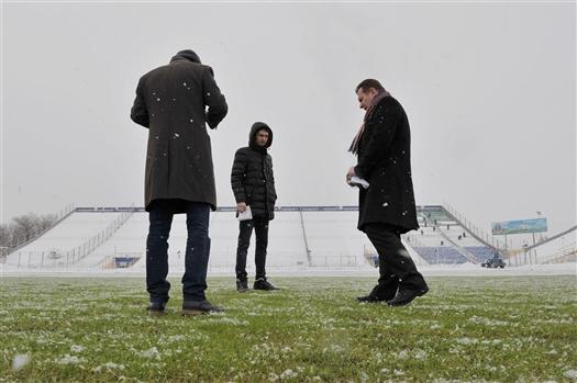 """Директор стадиона """"Металлург"""" Евгений Дмитриев: """"Мы провели максимально возможный комплекс работ"""""""