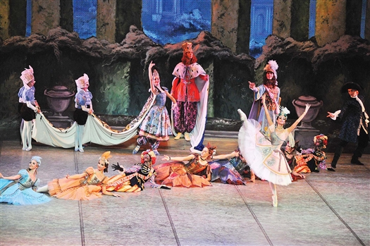 Танцы, музыка и живопись составили в «Павильоне Армиды» единое целое