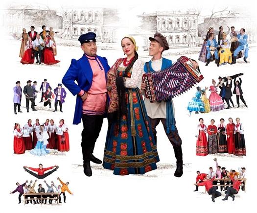 Волжский народный хор совершит гастрольный тур по городам Сибири, Урала и Удмуртии