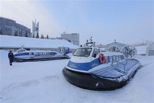 Зимняя переправа из Самары до Рождествено возобновила работу