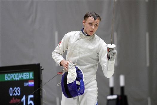 Самарский рапирист Кирилл Бородачев завоевал второе золото первенства мира