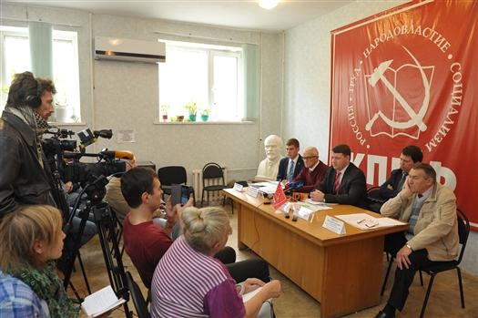Мандаты от КПРФ получат Леонид Калашников, Алексей Лескин, Михаил Матвеев и Алексей Краснов