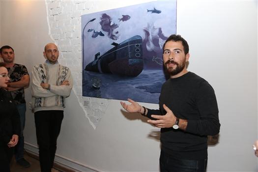 """В Тольятти открылась выставка Филиппо Кристини """"Все твердое растворяется в воздухе"""""""
