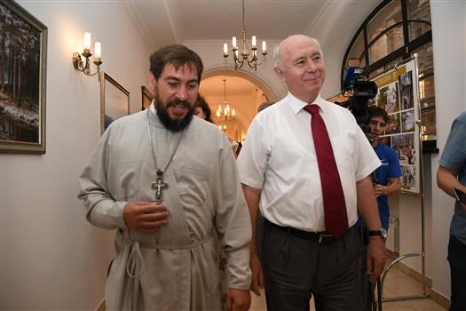 Глава региона посетил Поволжский православный институт