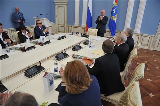 """Николай Меркушкин: """"Мы будем поддерживать тех, кто занимается наукой"""""""