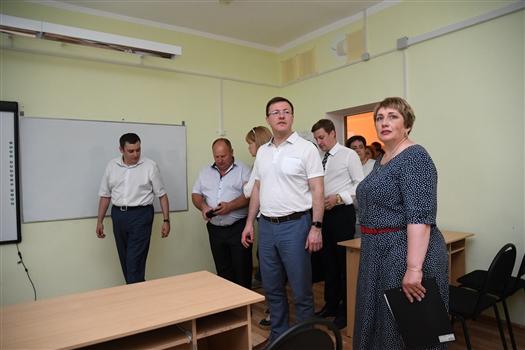 Глава региона посетил ряд социально значимых объектов в Алексеевском районе