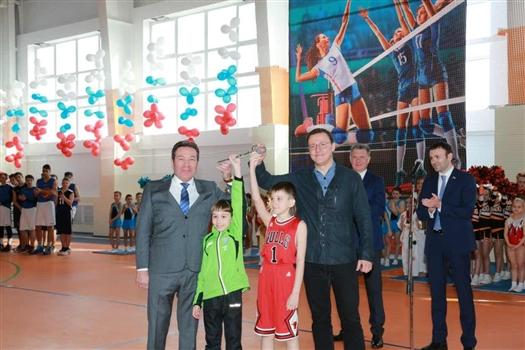В Сызрани торжественно открыли новый физкультурно-спортивный комплекс