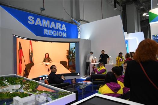 Выставочный стенд Самарской области на ВФМС-2017 работает и как дискуссионная площадка