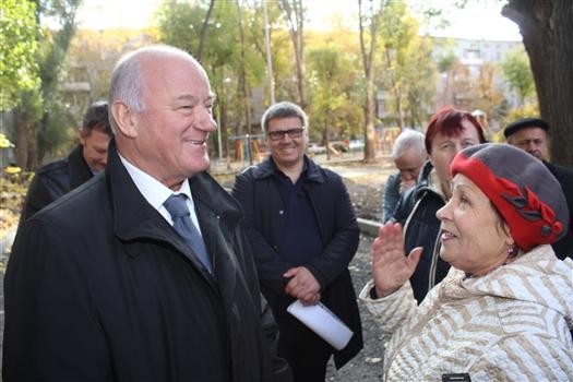 """Виктор Сазонов: """"Мы сделаем все, чтобы работы по проекту """"Городская среда"""" были выполнены в срок"""""""