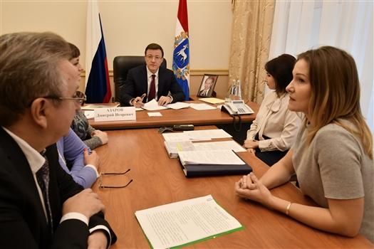 Дмитрий Азаров провел прием граждан