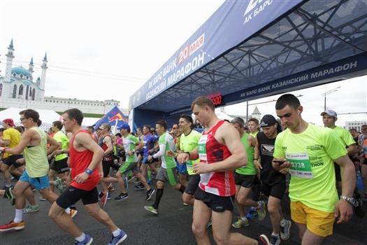 На старт Казанского марафона вышло около 10 000 участников из 28 стран мира!