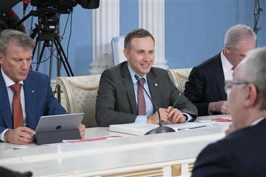 """""""Клуб Лидеров"""" представил Владимиру Путину новый проект по привлечению инвесторов в регионы"""