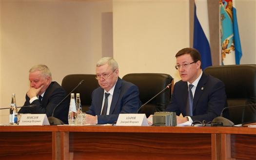В облправительстве обсудили шаги по решению задач, поставленных в послании Владимира Путина