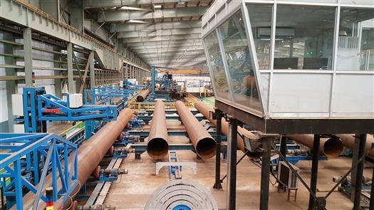 Автоматические системы для измерения геометрии труб