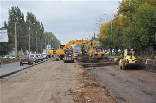 Капитальный ремонт Заводского шоссе идет с опережением графика