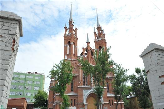 Реставрация костела в Самаре подходит к концу