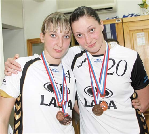 Яна (слева) и Вика Жилинскайте неразлучны на площадке и в жизни