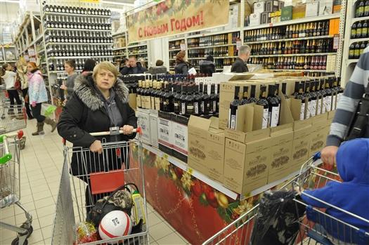 В регионе будут продавать алкоголь с 8:00 до 23:00 во все дни