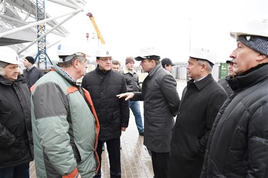 В Самаре комиссия Совета Федерации проверила готовность объектов к ЧМ-2018