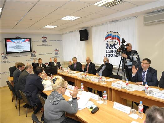 """Единая Россия"" утвердила план мероприятий по реализации посланий президента и губернатора"