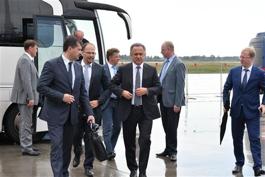 В Самару прибыл вице-премьер Виталий Мутко
