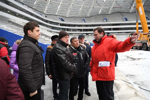 """Получено положительное заключение на опорные конструкции стадиона """"Самара Арена"""""""