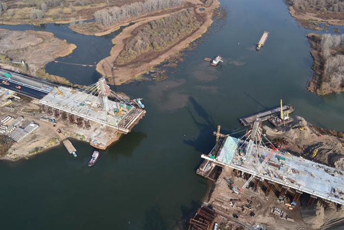 По новому мосту через реку Самару можно будет проехать уже через год