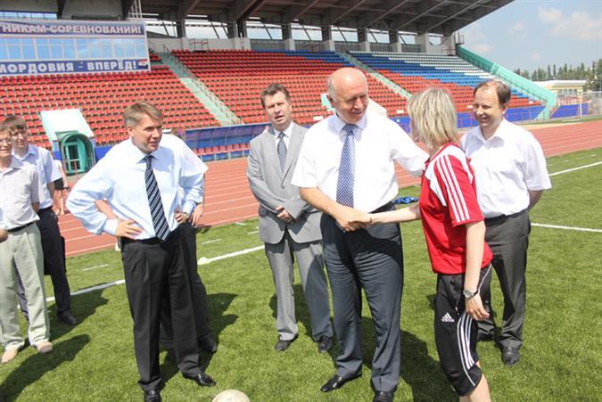 Только за последние четыре года в Мордовии было построено более сотни спортивных объектов